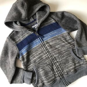 OshKosh Zip Hoodie Sweater (Boys 6)